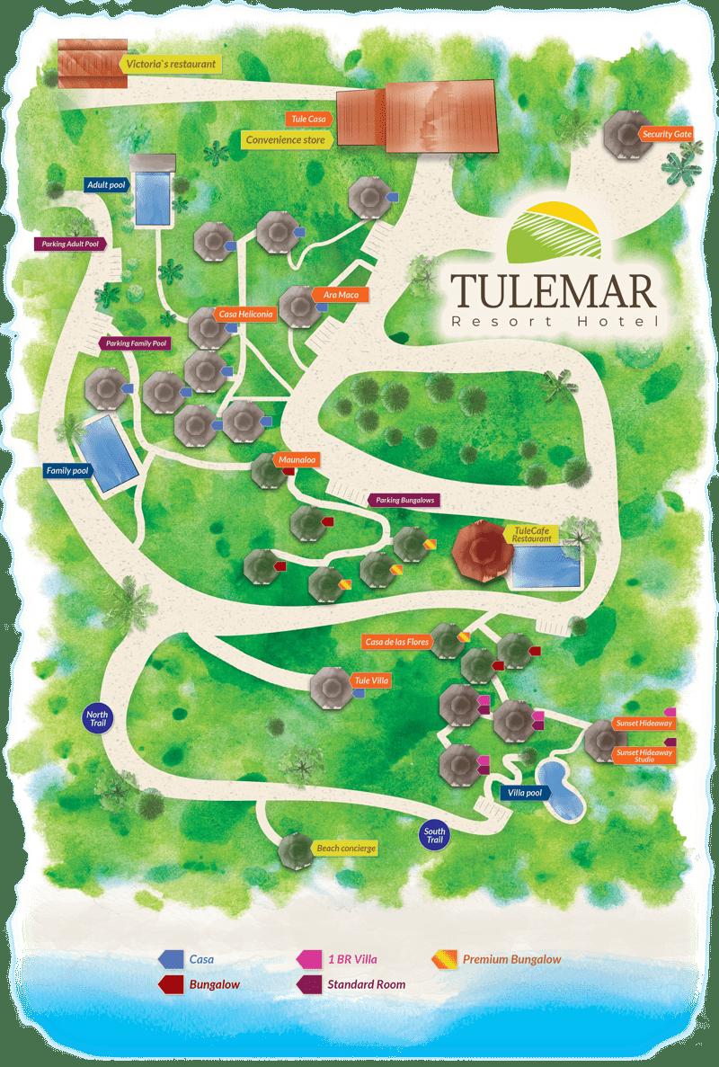 Tulemar Resort Property Map